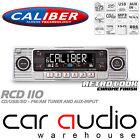Classic Retro 4x75W CD MP3 USB SD AUX In Car Stereo Radio Player SILVER RCD110S