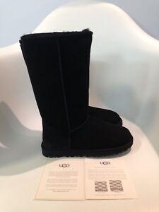 UGG Classic Tall II Black Boot Women's US sizes 5-12/36-43 NEW