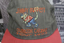 Jimmy Buffett Vintage Hat Chameleon Caravan 1993 Made In The USA StrapBack Cap