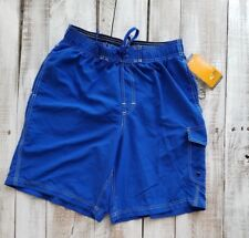 aae36313fb Champion men swim shorts size M blue NWT new advanced high performance solid