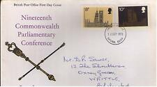 ROYAL MAIL FDC –19th Commonwealth Parliamentary Conference – 12th Sept 1973