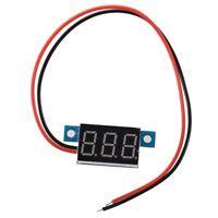 Mini Red LED Digital Voltmeter Volt Meter Panel 3.3-30V R7B7