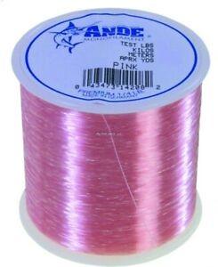 Ande A14-20P Premium Mono Line 1/4lb Spool 20lb 600yd Pink