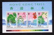 HONG KONG 1998 Trees set min sheet MNH