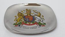 Silver Jubilee Coat of Arms 1952-1977 Arthur Price 18/8 Stainless Steel Dish