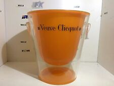 FRENCH VEUVE CLICQUOT CHAMPAGNE DESIGNER ICE BUCKET BOTTLE PLASTIC COOLER