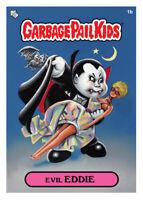 GARBAGE PAIL KIDS - TOPPS WAX Digital EVIL EDDIE 1b BASE Card Toppsgpk.io