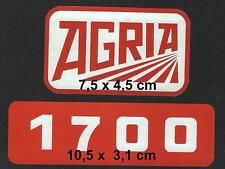 Cuanto 1x pegatinas agria + 1700 para agria einachser ver imagen