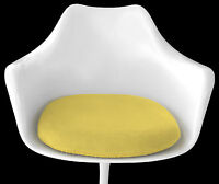 Slip-On Cushion Cover for Saarinen TULIP ARM CHAIR (Yellow) Mid Century Decor
