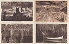 Lot 4 cartes postales anciennes ESPAGNE SPAIN ESPANA BALEARES MALLORCA cuevas dr