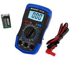 Amperimetro Digital Voltimetro Multimetro Tester Polimetro HP-33D AC Corriente