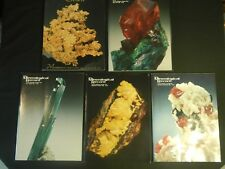 Mineralogical Record Magazine Vol 18 1987 Only 5 Issues