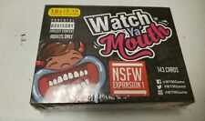 Watch Ya' Mouth NSFW (Adult) Expansion1 Card Game Pack Mouth Guard Games NEW