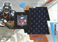 2003 SPx Winning Materials #PO Clinton Portis Jersey /350 - NM-MT