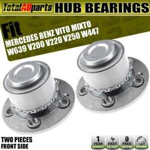 2x Front Wheel Bearing Hub for Mercedes Benz Vito Mixto W639 447 V200 220 250