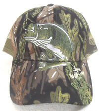 NWOT BALL CAP  OUTDOOR SPORTS  CAMOUFLAGE  HAT 2/3rds MESH WITH SNAP BACK