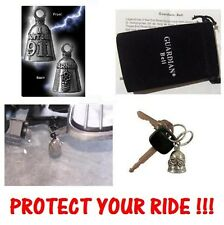 WARNING I DON'T DIAL 911 MOTORCYCLE GREMLIN GUARDIAN BELL PROTECT YOUR RIDE