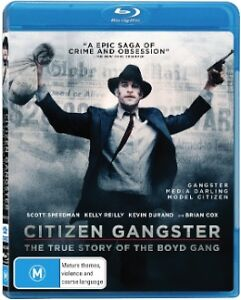 Citizen Gangster (Blu-ray, 2013)-FREE POSTAGE
