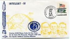 1971 Intelsat 4 Satellite Apollo 14 Moon Landing Mission Cape Canaveral NASA USA