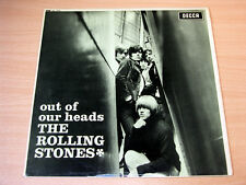 EX/EX!!! THE ROLLING STONES/out of our heads/1965 Decca Stéréo LP/boxed