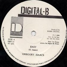 GREGORY ISAACS    easy    DIGITAL B   12""