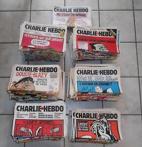 Lot de 847 Charlie-Hebdo.