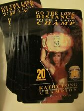 Nos new - Kathy Long Kickboxer - Acmi 20Th Century Hall Of Fame Phone Card 4/96