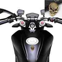 1x Motorcycle Body Tank Skull Demon Bone Badge Emblem Metal Sticker For Ducati
