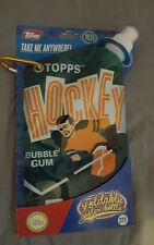 Topps Foldable Water Bottle Hockey  27 oz with Hook New