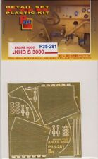 PE FOR KHD S 3000 Engine Hood (ICM) 1/35 - P35281