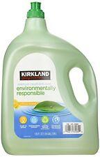 NEW 135oz Kirkland Eco Friendly Liquid Dish Soap Citrus Scent 1.05 Gallon Total