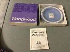 Vtg Wedgwood Small Plate w/ Menorah in Original Box  4 3/8""