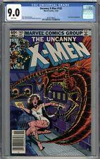 Uncanny X-Men #163 CGC 9.0 VF/NM Newsstand Variant Carol Danvers Appearance WP
