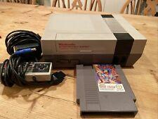Nintendo Entertainment System - NES-001 (original von 1985) + Chip N Dale Spiel