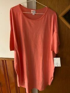 Lularoe irma brand new with tags size large solid pink