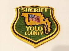 YOLO COUNTY SHERIFF  PATCH