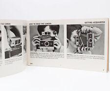 Vintage Polaroid 250 Pack Film Land Camera Manual Instructions Guide 1966