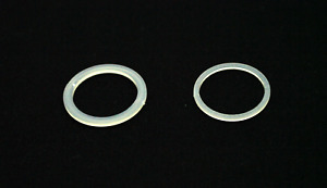 Nylon washers for door handles repairs 19mm AND 20.7mm outer D 1/ 2/ 4 of each