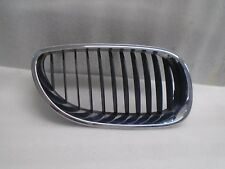BMW E60 5-SERIES 2004-2007 FRONT RIGHT SIDE BUMPER CHROME GRILLE OEM DK804230