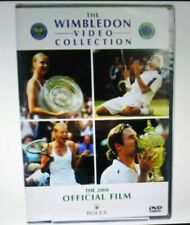 Wimbledon 2004 Official Film DVD Collection /Federer 2 Won, Sharapova 1Won