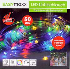 LED Lichtschlauch EASYmaxx Partybeleuchtung innen & aussen IP44 Batterie 5 METER