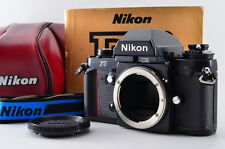 【EXC+++++】Nikon F3 35mm SLR Film Camera w/ Case MF-14 data back from Japan 469Y