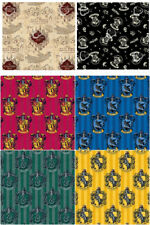 Harry Potter 100% Cotton Fabric Fat Quarters / Half Metres / Metres