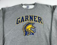 Garner Spartans Sweatshirt Mens 2XL North Carolina High School Student Alumni