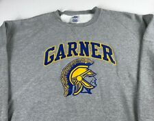 Garner Spartans Sweatshirt Mens 2XL North Carolina High School Student Alumni