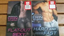 Fast Track: Flat-Out Sexy and Hard and Fast by Erin McCarthy (2008, Paperback)