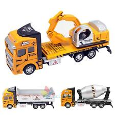 1:48 Scale Alloy Dump Truck Diecast Construction Vehicle Cars Lorry Toys Model