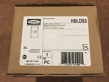 New! Enclosed Disconnect Switch, Hubbell Wiring Device-Kellems, HBLDS3