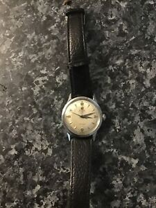 Vintage Mens 1950s Cyma Automatic Watersport Domed Back  Recently Serviced