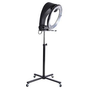 Standing Hair Dryer Accelerator Colour 360 Rotating Halo Rolling Salon Equipment